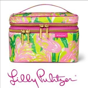 Lilly Pulitzer Train Case NWT